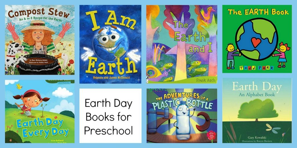 Earth Books for Preschoolers to Accompany the Ways to Play Every Day April Activity Calendar