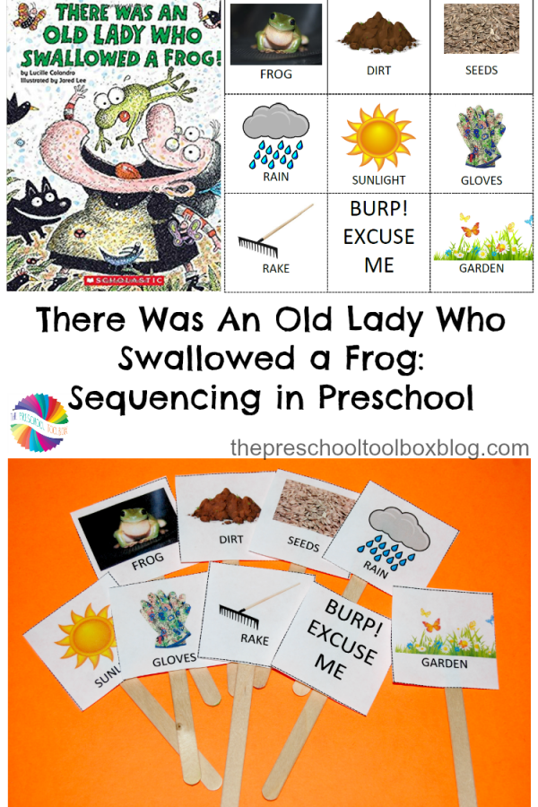 There Was An Old Lady Who Swallowed a Frog: Sequencing in Preschool
