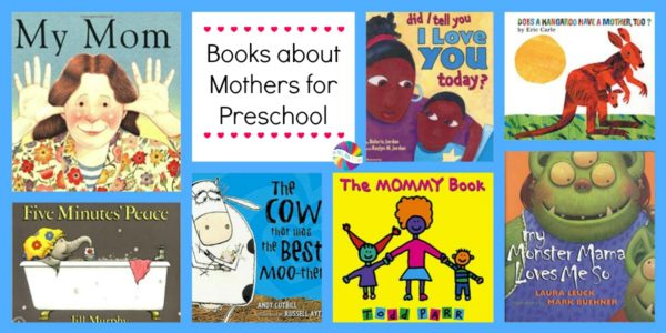 Books about Moms for Preschoolers