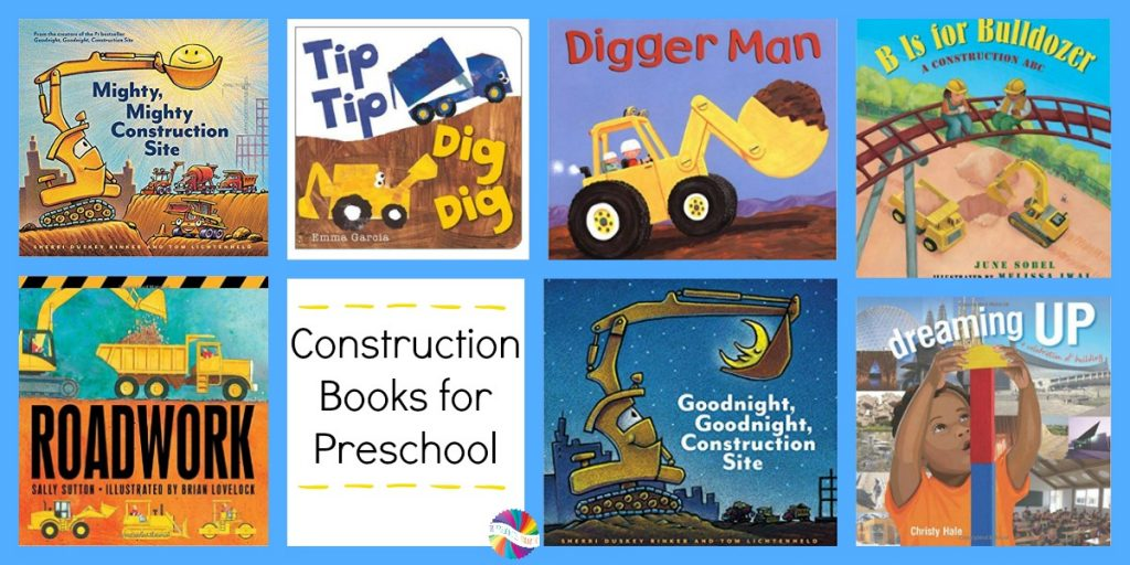 Books about Construction for Preschoolers