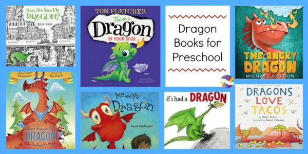 Books about Dragons for Preschoolers