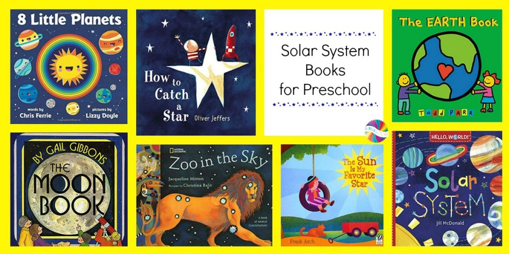 Solar System Books for use with young kids