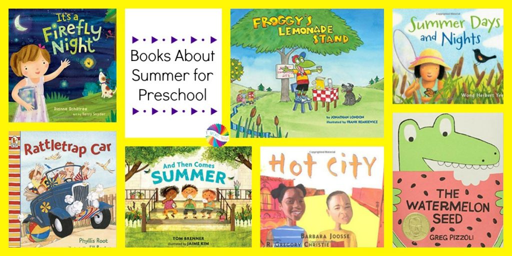 Summer themed books for preschoolers