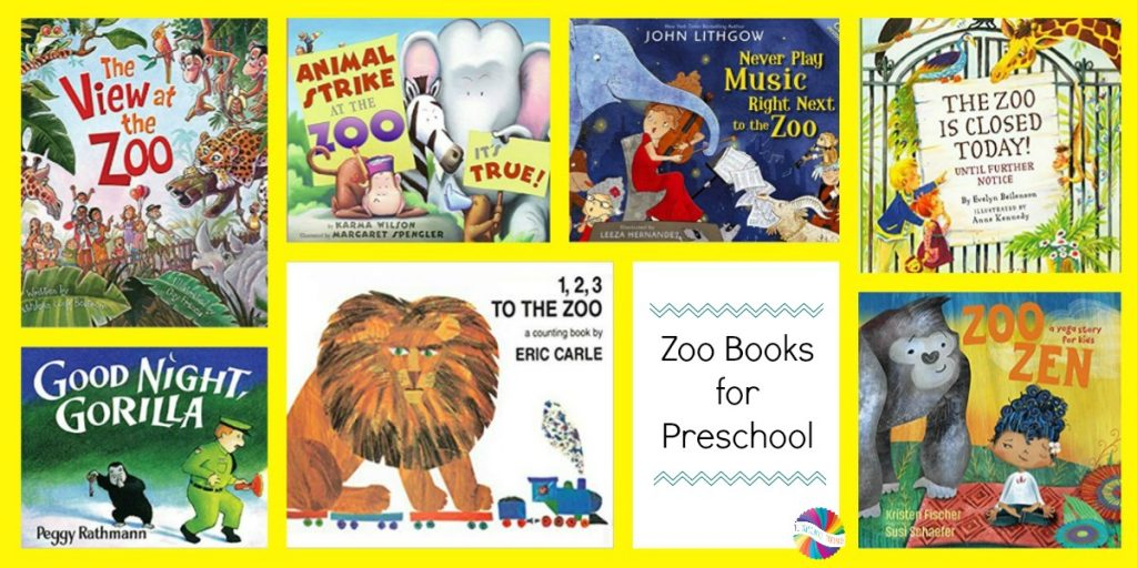 Zoo Books for Preschoolers