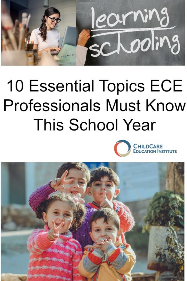 10 Essential Topics for ECE Professionals from ChildCare Education Institute