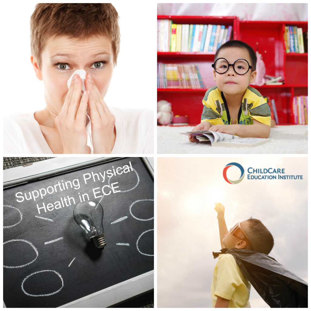 10 Essential Topics for in ECE including Supporting Physical Health in Early Childhood Environments from CCEI Online