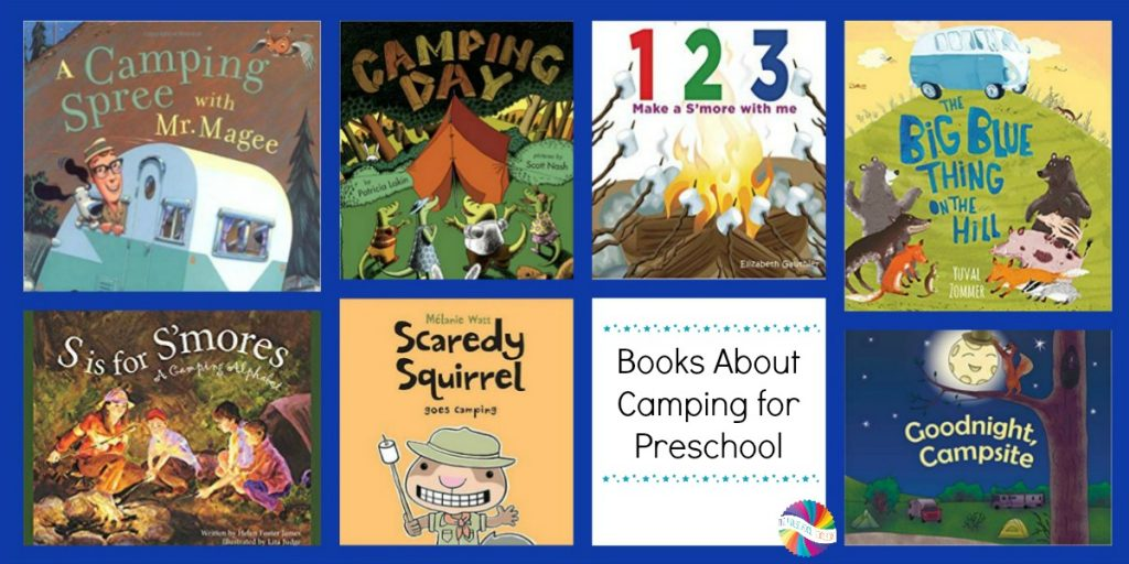 Books about Camping for Preschoolers