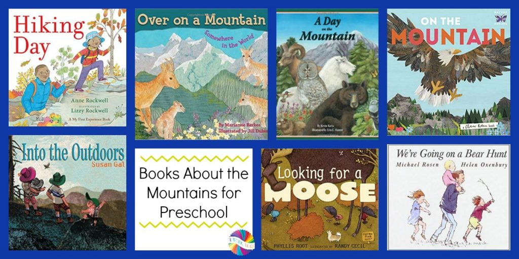 Mountain Books for Preschoolers