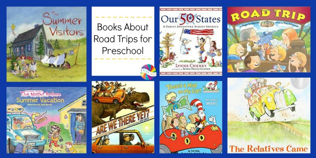 Books about Road Trips for Preschool