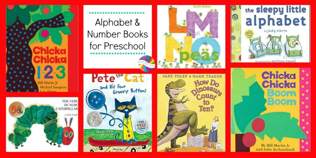 Books about Numbers and Letters for Preschoolers