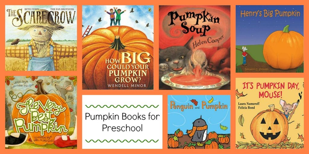 Pumpkin Books to Accompany the Ways to Play Every Day in Preschool October Activity Calendar