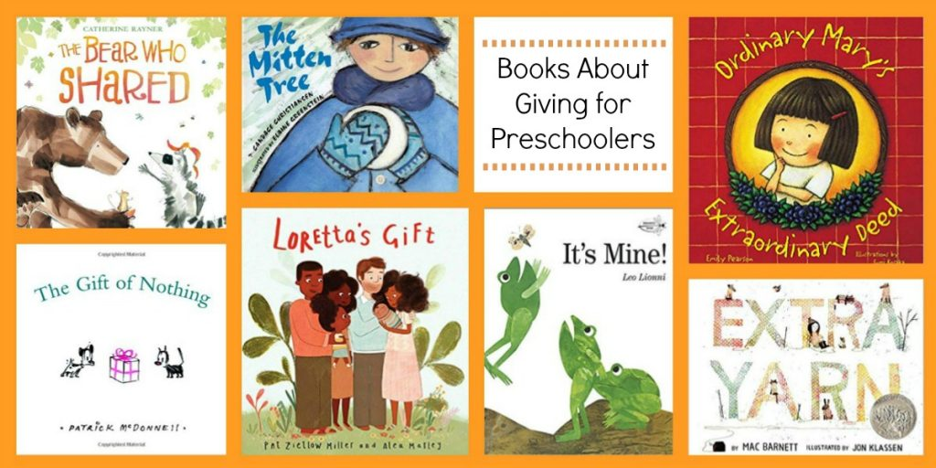 Preschool Books about Giving
