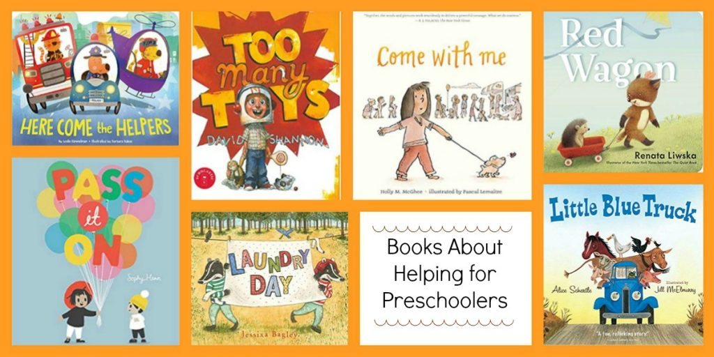 Books about being helpful in preschool