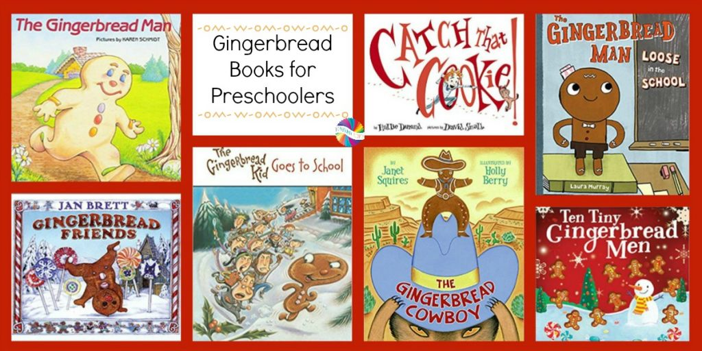 Gingerbread Books for Preschoolers