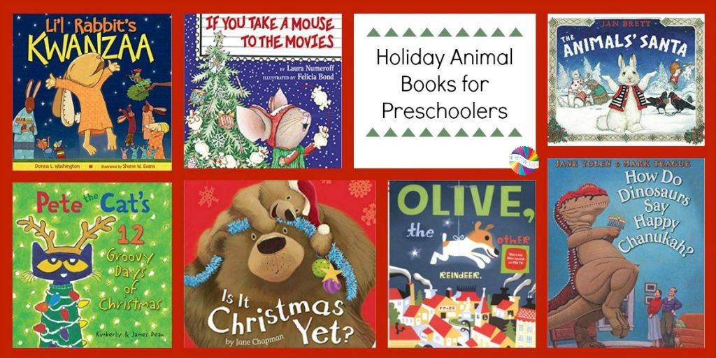 December Preschool Books About Animals