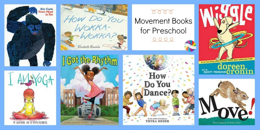 Books about Ways to Move and Play with Preschoolers in January