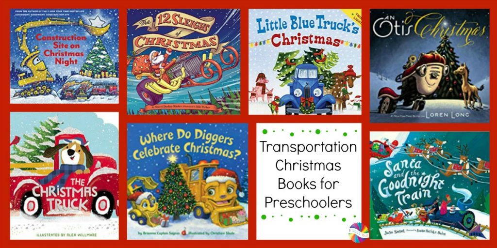 Christmas On the Move: Transportation Books for Preschoolers