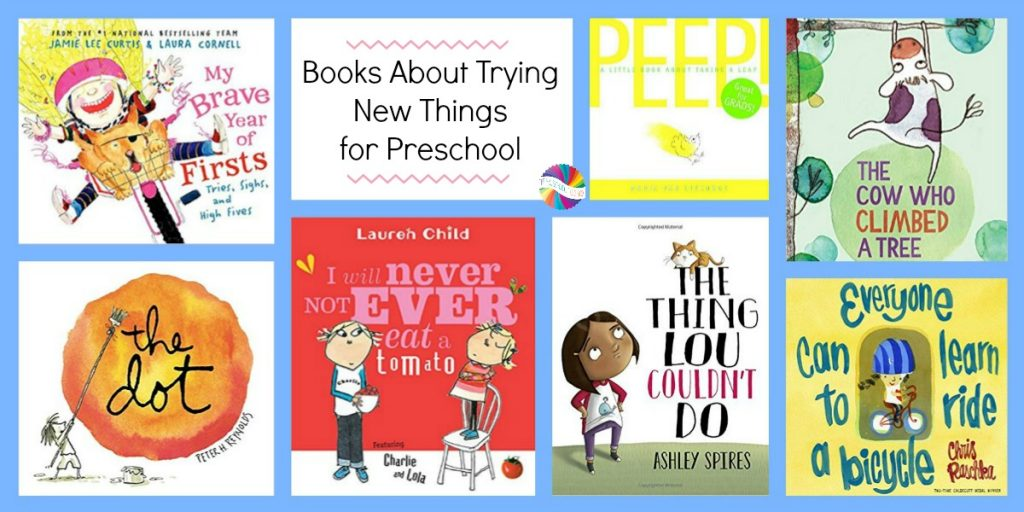 Preschool Books to read about trying new things