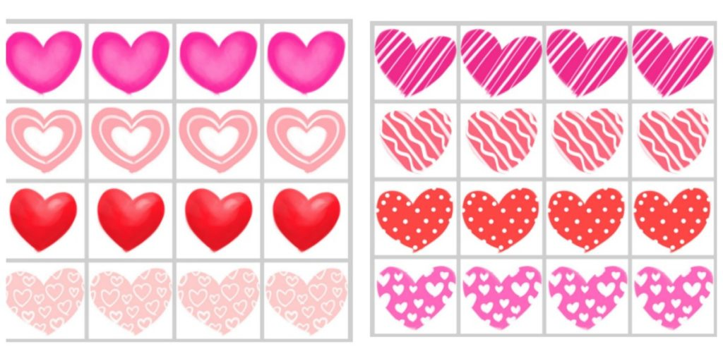 Heart-Themed Free Printable for Preschool - 10+ Ways to Learn through Play