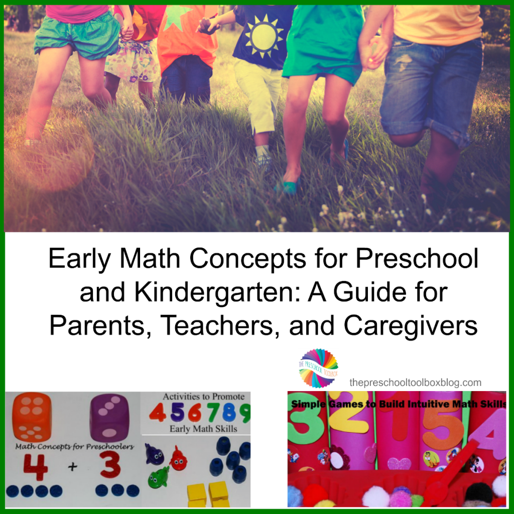 Early Math Concepts for Preschool and Kindergarten