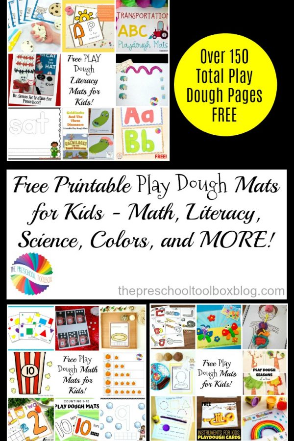 Play Dough Mats for Kids