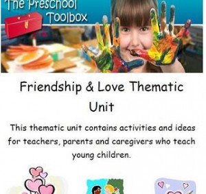 Valentines Love and Friendship Theme