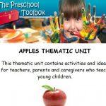 Apples Theme for Preschool and Kindergarten
