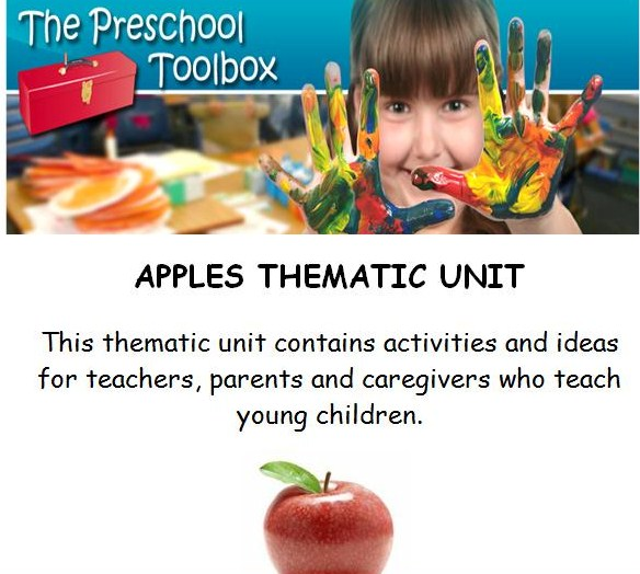Apples Theme for Preschool
