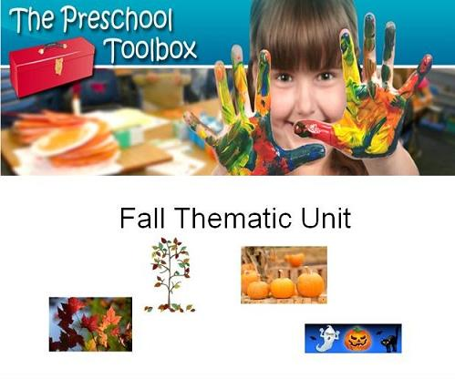 Fall Theme for Preschool and Kindergarten