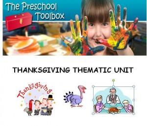 Thanksgiving Theme for Preschool