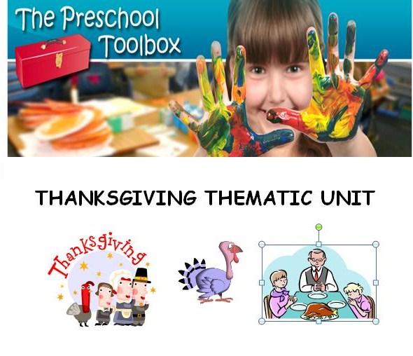 Thanksgiving Theme for Preschool!